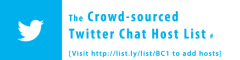 The Crowd-sourced Twitter Chat List Header