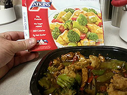 TV dinner that doesn't look like the picture
